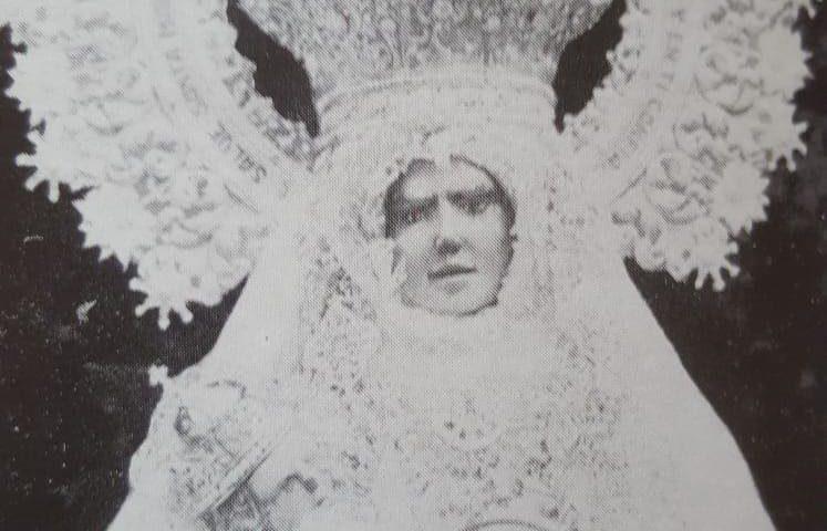 La Virgen de La Piedad de Baza. una de las imágenes más antiguas de España/foto archivo histórico, Antonio García de Paredes Muñoz.. Cronista Oficial de Baza