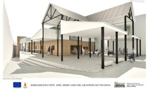 Proyecto seleccionado por el Ayuntamiento de Baza para la conversión del antiguo edificio de la Plaza de Abastos en Plaza Abierta
