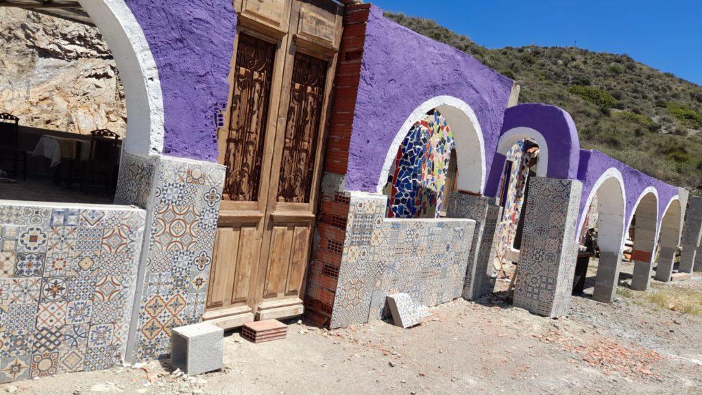 """Espacio de la """"Fundación Coronado Sotelino"""", en construcción para su futura reapertura en el ámbito del Sitio Casa Museo Coronado, en Águilas ciudad natal."""